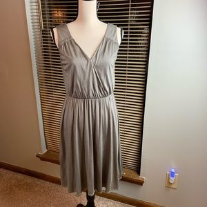 Loft Sleeveless Dress olive green/ size M